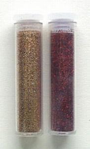 LeCrea Design Glitter GL400 koper geel & rood