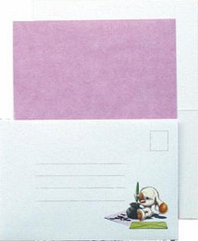 LeCreaDesign Sticker-L-Stitch kaartenset 30.3997 Roze