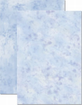 LeCreaDesign marmer papier 51.3843 Blauw