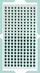 LeCrea Design Strass steentjes 72.4147 - Groen