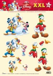 A4 Knipvel Studio Light Disney 46 Mickey Mousse/Donald XXL