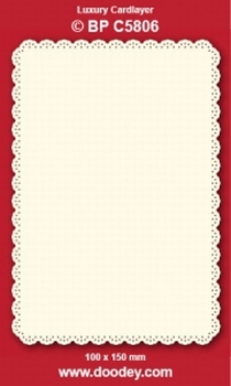1 Doodey Luxe oplegkaart stans BPC5806 Klassiek 3