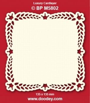 Doodey Luxe oplegkaart stans BPM5802 Kroontjes