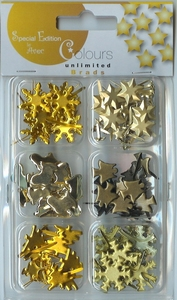 Avec Colours Unlimited Brads 4.621.061 geel/goud