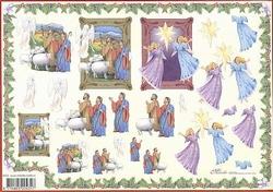 4A Kerstknipvel Mireille X375 Jezus geboorte aangekondigd