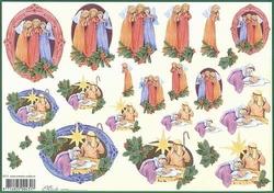4A Kerstknipvel Mireille X374 De Messias is geboren