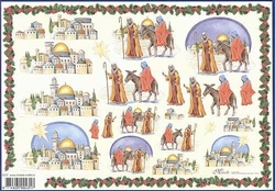 4A Kerstknipvel Mireille X372 Betlehem Jezus geboortestad
