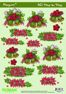 A4 Kerstknipvel Megumi 48 Kerstklok