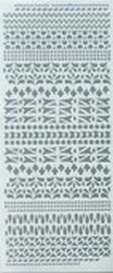 LeCreaDesign® Sticker 611475 Spirella ornament