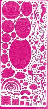 Kars Siersticker Babuschka 1 roze KARS 07