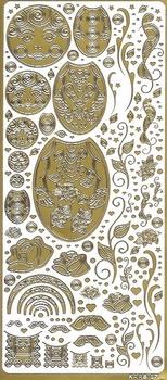 Kars Siersticker Babuschka 1 goud KARS 07