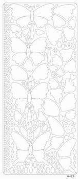 Peel off colour dimension vlinder 0426 groen