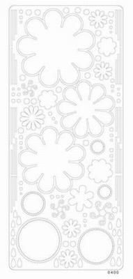 Peel off colour dimension bloem 0400 wit