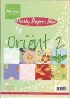 MD Pretty Paper Bloc MG0852 Orient