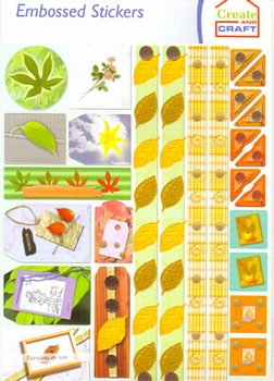 Create and Craft Embossed Sticker 3751