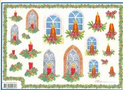 4A Kerstknipvel Mireille X377 Kerst raam