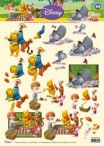 A4 Knipvel Studio Light Disney Winnie the Pooh 34