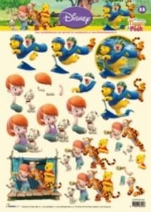 A4 Knipvel Studio Light Disney Winnie the Pooh 33