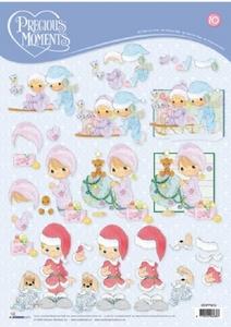 A4 Knipvel Studio Light Precious Moments stappm10 Kerst