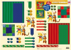 Studio Light Kerst CARDS-59 Winnie the Pooh