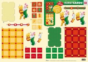 Studio Light Kerst CARDS-58 Winnie the Pooh