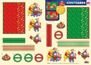 Studio Light Kerst CARDS-60 Winnie the Pooh