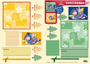 Studio Light Kerst CARDS-57 Winnie the Pooh