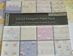 Scrapbooking Papier pack Dovercraft Baby
