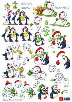 A4 Knipvel MD Eline AK0045 Penquins snowfriends 2