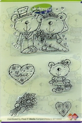 Clear stamps Card Deco Stampies ST10002 Love