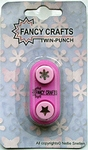 Nellie's Choice Fancy Craft Twinpons TMP003 Sneeuvlok-Ster