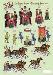 Line Kerststansvel 501 kerstslee/zangkoor