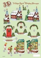 Line Kerststansvel 510 kerst etalage kerk