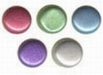 Vaessen Creative Paper fasteners round pearl