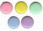Vaessen Creative Paper fasteners round pastel