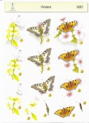 061 't Boekensteuntje 3D stappenvel vlinders