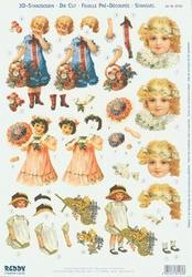 Reddy 3D Stansvellen A4 Nostalgie 162 Kinderen