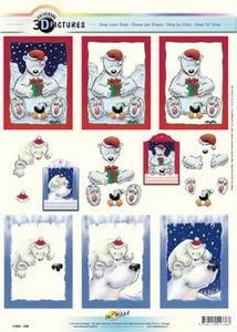 3D Kerstknipvel Universal Pictures 336 Kerstbeer