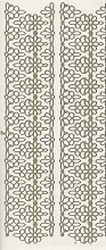 Sticker Peel-off 2675 Diverse brede sierlijke randen