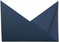 4 Neerzetkaart  Passe Partout driehoekjes donkerblauw