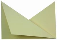 4 Neerzetkaart  Passe Partout driehoekjes crème