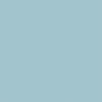 Open passe-partout kaart rechthoek baby blauw