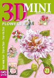 Studio Light 3D Mini boek 21 Bloemen