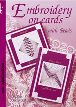 Leane Creatief Embroidery on cards Engels