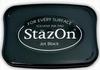 Stempelkussen StazOn 031 zwart