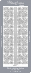 Stickervel Starform 1072 Hoekjes & randen