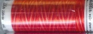 Mettler borduurgaren Poly Sheen multi 9924 rood
