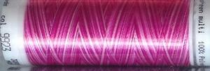 Mettler borduurgaren Poly Sheen multi 9923 roze