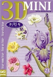 Studio Light 3D Mini boek 23 Bloemen