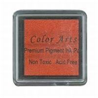 NS Mini stempelkussen Colorart MIST02 fel oranje